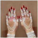 Düğünlerde Ele Yapılan Beyaz Hint Kınası