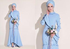 Alvina Abiye Modelleri 2019 Mavi