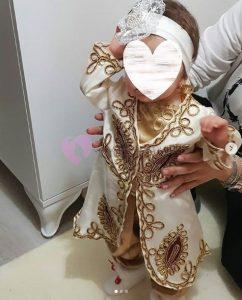 6 Ay Kınası Bebek Bindallı