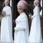 Kapalı Sünnet Annesi Kıyafeti Beyaz