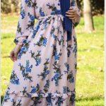 Alaçatı Çiçekleri Elbise Modelleri