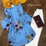 Tesettür Çiçek Motifli Tunikler