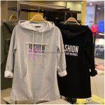 Fashion Yazılı Sweatshirt Modeli Bayan