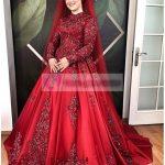 Kırmızı Kına Abiye Modeli