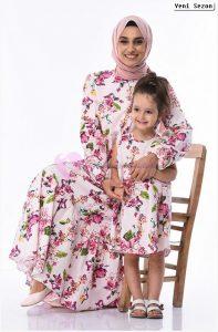 Sefamerve Anne Kizi Elbise Modelleri