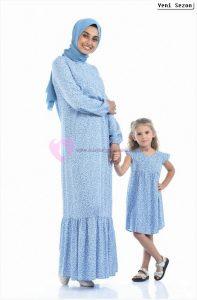 Sefamerve Tesettür Anne Kızı Kıyafetleri