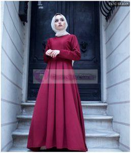 İnstagram Tesettür Mezuniyet Elbise Modelleri