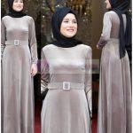 Mezuniyet İçin Kadife Elbise