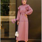 En Moda Tesettür Elbise Modelleri