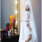 En Güzel Gelinlik Corona Maskeleri