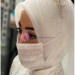 Gelinlere Özel Tasarlanmış Maskeler