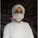 Virüse Karşı Gelinlik Maskesi