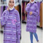 Boğazlı Uzun Kazak Tesettür Giyim