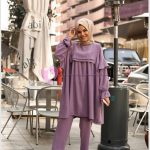 Lila Renk Salaş Giyim