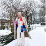 Kışlık Tesettür Giyim Kombini