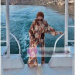 Deniz Kenarında Tesettür Kimono