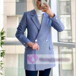 Ofis İçin Tesettür Blazer Ceket