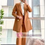 Taba Renk Tesettür Ceket