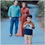 Ailecek Çekilen Hamile Dış Çekim