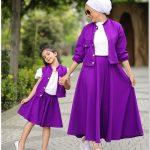 Anne Kız Kombin Tesettür Giyim