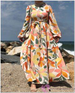 Deniz Kenarında Giyilen Rahat Elbiseler