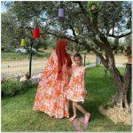 Tesettür Anne Kız Kıyafetleri